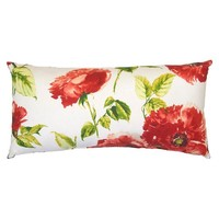 Outdoor Pillow - Red Floral - Threshold™