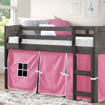 Hailey Loft with Pink Tent
