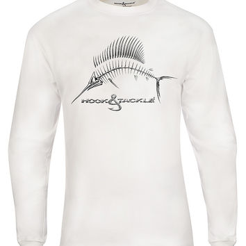 Men's Sail X-Ray L/S UV Fishing T-Shirt