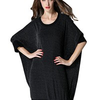 Women's Dress Casual Loose Fitting Plus Size One Size Long Sleeve Autumn Spring