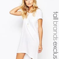 Noisy May Tall Dip Hem Longline Tee Dress
