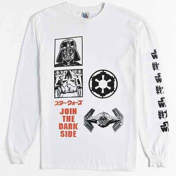 Junk Food Star Wars Kanji Logo Long-Sleeve Tee
