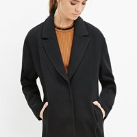 Textured Boxy Coat