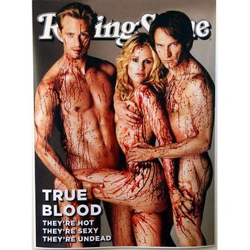 True Blood Rolling Stone Promo Poster 24X36 Imported Out Of Print 24x36