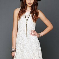 Free People Free People Sleeveless Miles of Lace Dress