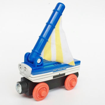 RARE NEW SKIFF Original Thomas And Friends Wooden Magnetic Railway Model Train Engine Boy / Kids Toy Christmas Gift