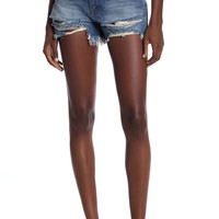 BLANKNYC Denim | High Waist Distressed Denim Shorts | Nordstrom Rack