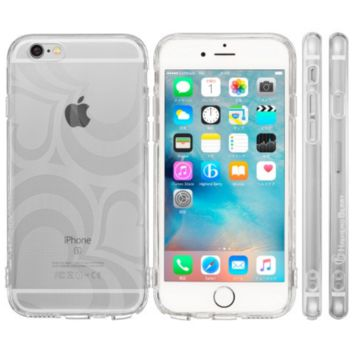 Highend Berry Original Soft TPU Case with Protective Cap for Charging/Headphones Port for iPhone 6 (Freaheart)