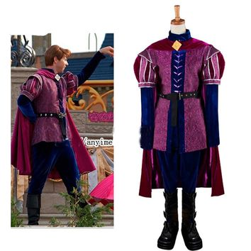 Custom Made Sleeping Beauty Costume Prince Phillip Medieval Cosplay Costume