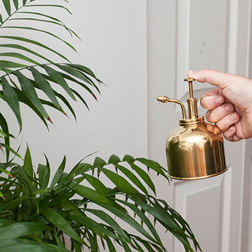 Kikkerland Design Inc » Products » Plant Mister Brass