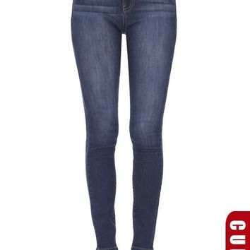 Real 5-Pocket Curvy Super Skinny Jean