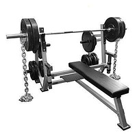 Valor Fitness Olympic Weight Bench with Spotter Stand