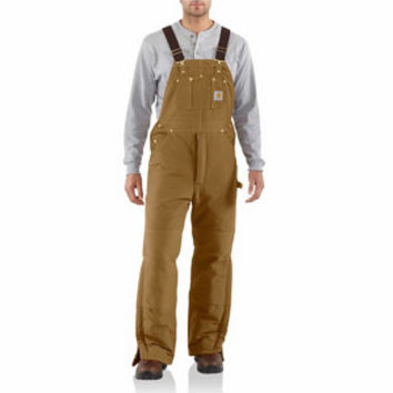 Carhartt Men's Arctic Quilt Lined Duck Bib Overalls at Tractor Supply Co.