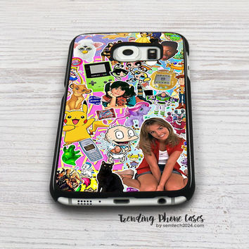 90's, Childhood.  Samsung Galaxy S6 Case Cover for S6 Edge S5 S4 Case