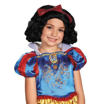 Disney's Snow White Costume Wig - Kids (Black)