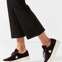 Converse One Star Velvet Platform Low Top Sneaker | Urban Outfitters