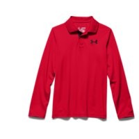 Under Armour Boys' UA Match Play Long Sleeve Polo