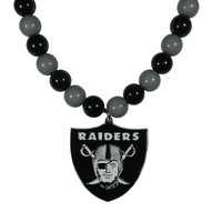 NFL - Oakland Raiders Fan Bead Necklace
