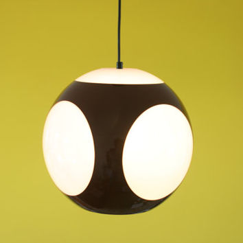 Luigi Colani UFO Pendant Light Space Age Panton Pop Art ball hanging lamp plastic plastics