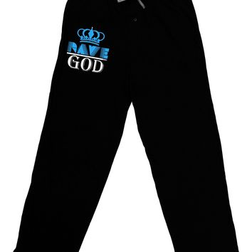 Rave God Relaxed Adult Lounge Pants
