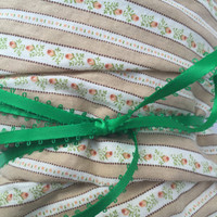 Destash Fabric With Flower Print 88 inches,  75 inches OR 120 Inches Long and 43 inches wide