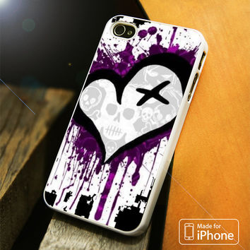 Emo Love iPhone 4 5 5C SE 6 Plus Case