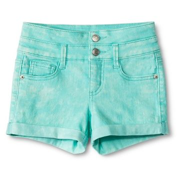Girls' Rolled-Hem Short - Sea Urchin