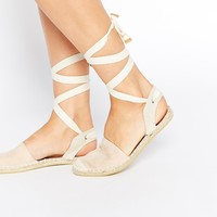 ASOS JUST BE MINE Espadrilles