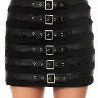 The Buckle Up Skirt