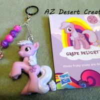 MOD PV Charm Beads Heart charm and Grape Delight My Little Pony Toy