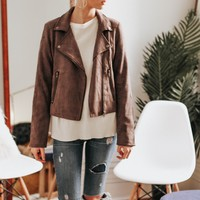Ride By Vegan Suede Jacket