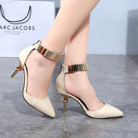 Designer Shoes Women Luxury 2016 Red Bottom High Heels Woman Pumps Zapatos Mujer Pointed Toe Wedding Womens Chaussure Femme