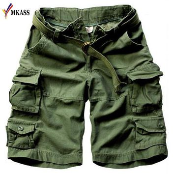 Hot Sale Mens Cargo Shorts Casual  Male Shorts Military Camouflage Shorts Plus Size 3XL