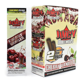 Juicy Wraps - Cherry Vanilla (Box of 50)