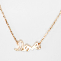 Urban Outfitters - Love You Always Necklace