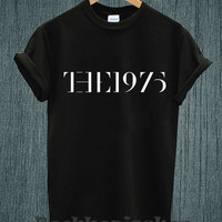 Hot - The 1975 Band Music Tour 2014 Logo Tee Shirt Black and White Unisex Size - Part 3