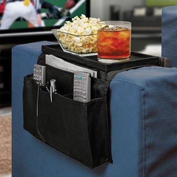 Worldwide 6 Pockets Sofa handrail Couch armrest Arm Rest Organizer Remote Control Holder bag On TV Sofa corrimao Braco Resto