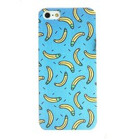 Fruit Pattern Phone Case For iPhone 5/5S Color Blue