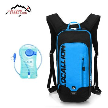 Outdoor Local Lion Climbing Hiking Backpack MTB Bicycle Riding Bag Bike Ski Backpack 6L Outdoor Sport Running Cycling Water Bag