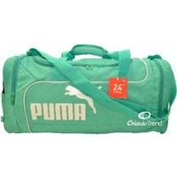 "Puma Fundamentals Teal Green 24"" Duffel Bag at OrlandoTrend.com"
