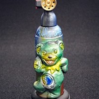 Puff n Dabs Emerge Graffiti Artist Dancing Bear Blazer Torch Lighter