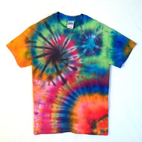 Tie Dye Shirt - Galaxy T-Shirt - 100% Cotton - Men and Women's Hippie Festival Wear