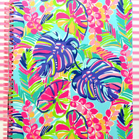 LILLY PULITZER: Large Notebook - Exotic Garden