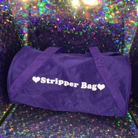 Stripper Bag- Purple