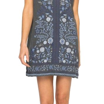 Johnny Was Women's Lei Lei Peasant Tunic Dress Voltage