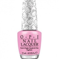 OPI Hello Kitty LOOK AT MY BOW! NL H83