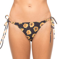 Motel Sherbet Tie Bikini Bottom Sunflower