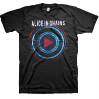 Alice in Chains Played T-Shirt - Black - Small