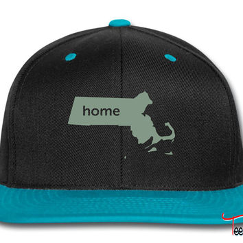 massachusetts home Snapback
