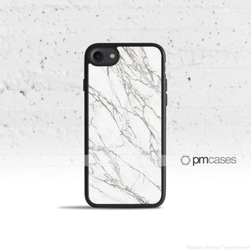 Black & White Marble Case Cover for Apple iPhone & iPod Touch